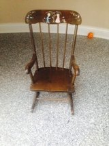 kids rocking chair from 1970 in Naperville, Illinois