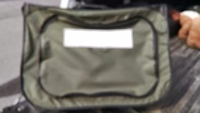 Military Flight uniform bag in Camp Lejeune, North Carolina