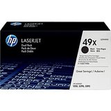 HP 49X Black Toner Cartridges (Q5949XD), High Yield, Twin Pack in Camp Lejeune, North Carolina