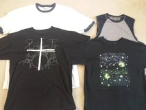Boys Size 14 Tee Shirts incl Christian and Glow In the Dark in Naperville, Illinois