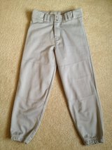 Grey (L) Youth Belt Loop Baseball Pants in Lockport, Illinois