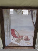 Beach Chair Framed Pictures in Schaumburg, Illinois