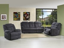 Plaza Recliner Living Room Set -Sofa + 2 x Chair - monthly payments possible in Aviano, IT