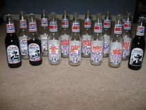14 Richard Petty collectible Pepsi bottles in Camp Lejeune, North Carolina