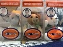 Nsync on stage limited edition rare bears in Camp Lejeune, North Carolina