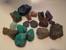 rocks and minerals of all types, some polished. in Alamogordo, New Mexico