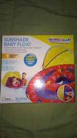 Sunshade Baby Float  and arm bands in Naperville, Illinois