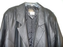 LADIES LONG LEATHER COAT in Beaufort, South Carolina
