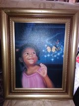 Little Girl / Butterflies Oil Painting Picture in Fort Campbell, Kentucky