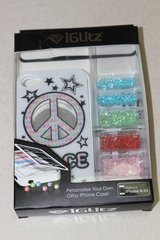 NEW iGlitz PEACE iPhone 4/4s cell case cover-personalize your own! in Yorkville, Illinois