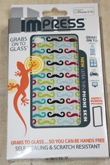 NEW ImPress iPhone 4/4S skin MUSTACHE, many great features!! in Aurora, Illinois