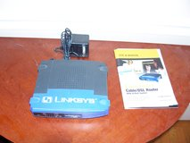 Linksys Cable/DSL Router with Switch in Naperville, Illinois