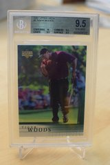 2001 UD #1 Tiger Woods RC card in Ramstein, Germany
