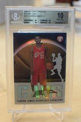 2003-04 Lebron James BGS 10 Topps Pristine in Ramstein, Germany