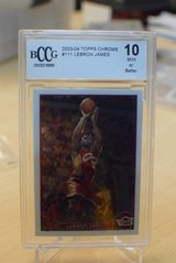 2003-04 Lebron James BccG 10 Topps Chrome in Ramstein, Germany