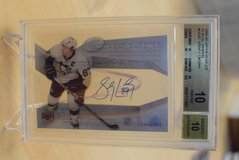 RARE 2008-09 Perfect BGS 10 Sidney Crosby Autographed card in Ramstein, Germany