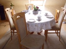 Dining Table  and 4 chairs in Ramstein, Germany