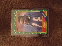 1986 Topps Bruce Smith RC in Warner Robins, Georgia