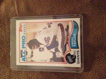 1982 Topps Lawrence Taylor RC in Perry, Georgia