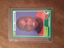 1989 Score Derrick Thomas RC in Warner Robins, Georgia