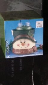 Snowman candel warmer in Fort Campbell, Kentucky