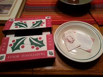 longaberger holly pie dish in Glendale Heights, Illinois