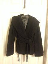 BCBG MAXAZRIA black coat, sz S in Fort Campbell, Kentucky