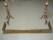 "Old English Brass ""Fireplace"" set in Ramstein, Germany"