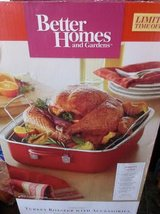 New Better Homes and Garden 17 Peice Set Red Roaster in Fort Campbell, Kentucky