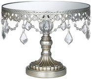 silver cake stand (wedding, entertaining) in Beaufort, South Carolina