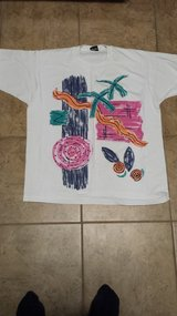 White -Shirt With Design, Size XL in Kingwood, Texas