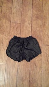 Black Gym Shorts with Elastic Waist, Size Adult Medium in Kingwood, Texas