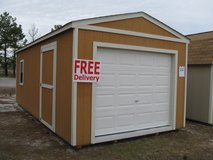 12x24 Garage Storage Building Shed GREAT BUY!!! in Moody AFB, Georgia