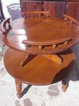 Solid Maple Captains Side Table in Fort Campbell, Kentucky