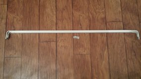Curtain Rods, Set of 2 (3 Inch and 1-1/2 Inch Wide), 46 Inch Expands to 80 Inch in Kingwood, Texas