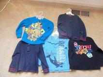 Boys Size 4/4T Long Sleeve Shirts (Updated 3/9/15) in Naperville, Illinois