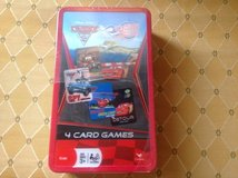 Disney cars card game set new in Naperville, Illinois