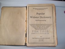 1927 wEBSTER DICTIONARY in Perry, Georgia