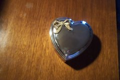 Silverplate Heart-shaped Trinket Box in Baytown, Texas