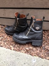 REDUCED* HARLEY DAVIDSON boots size 8 in Travis AFB, California