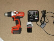 Black and Decker Cordless Drill 12 Volts - Li-Ion in Houston, Texas