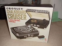 "CROSLEY CHALKBOARD ""Cruiser"" Turntable System-""BRAND NEW"" in Fort Leavenworth, Kansas"