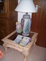 Shabby chic table in Ramstein, Germany