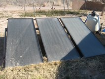 4 large solar water heating panels  $100 each in Alamogordo, New Mexico