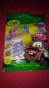 Cars Crayola activity set in Spring, Texas
