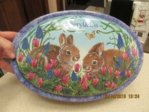 "Gorgeous ""Easter"" Themed Tin Complete w/Excelsior Shreds in Houston, Texas"
