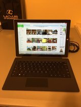 Microsoft Surface Pro 3 128GB w/ Type Cover (Black) & Screen Protector in Travis AFB, California