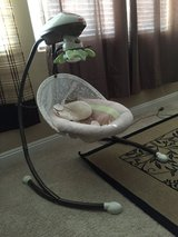 Fisher-Price Snugabunny Cradle 'N Swing with Smart Swing Technology in Nellis AFB, Nevada