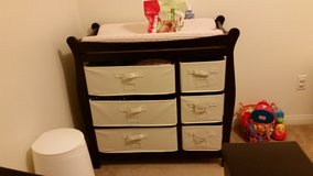 Baby changing table in Fort Irwin, California