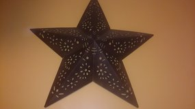 large metal star in Toms River, New Jersey